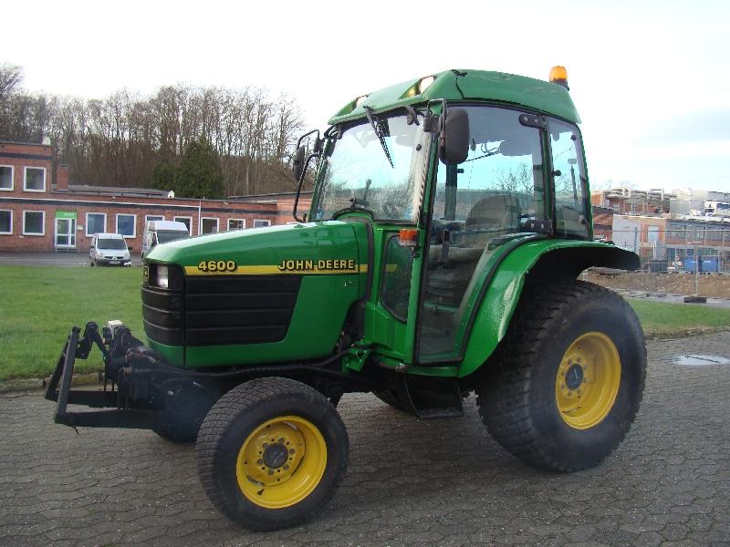 john deere 4600 kommunaltraktor winterdienst traktor. Black Bedroom Furniture Sets. Home Design Ideas